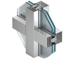 Systemy fasadowe słupowo-ryglowe z izolacją termiczną MB-SR100 i MB-SR80 - zdjęcie