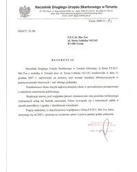 Naczelnik Drugiego Urzędu Skarbowego w Toruniu - zdjęcie