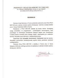 Pierwszy Urząd Skarbowy w Toruniu - zdjęcie
