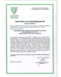 Certyfikat dla przedsiębiorców - zdjęcie