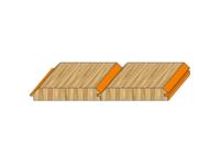 Zestaw frezów HS/HW do produkcji deski podsufitowej - zdjęcie