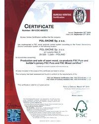 Certyfikat FSC - zdjęcie