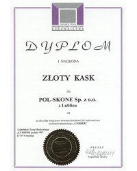I Nagroda ZŁOTY KASK - zdjęcie
