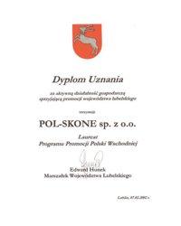 Dyplom Uznania - zdjęcie