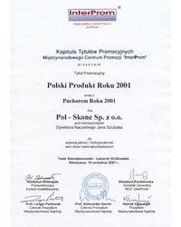 Polski Produkt Roku 2001 - zdjęcie