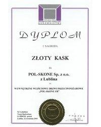 I nagroda - ZŁOTY KASK - zdjęcie