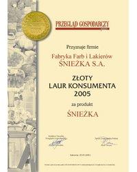 Złote Godło Laur Konsumenta 2005 - zdjęcie