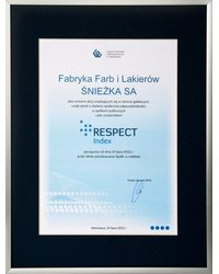 Śnieżka RESPECT Index - zdjęcie
