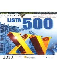 Nagroda Lista 500 - zdjęcie