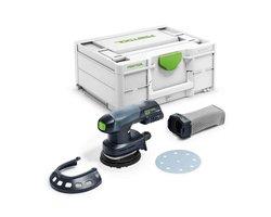 Akumulatorowa szlifierka mimośrodowa ETSC 125-Basic - zdjęcie
