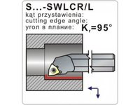 Noże tokarskie składane S...-SWLCR/L - zdjęcie