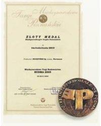 Złoty Medal Międzynarodowych Targów Poznańskich BUDMA 2005 - zdjęcie