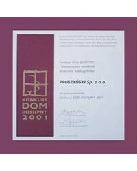 Konkurs Dom Dostepny 2001 - zdjęcie