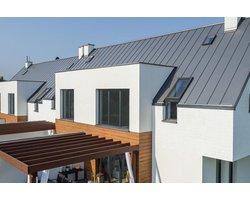 Panele dachowe na rąbek - zdjęcie