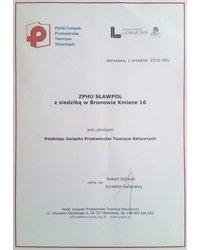 Członkostwo w Polskim Związku Przetwórców Tworzyw Sztucznych - zdjęcie