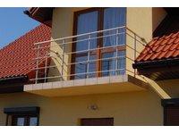 Balustrady balkonowe - zdjęcie
