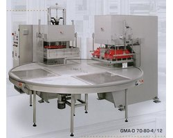 Zgrzewarki obrotowe GMA-D + PDT do produkcji blistrów - zdjęcie