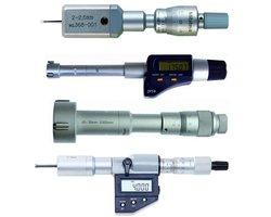 Średnicówki mikrometryczne, dwupunktowe, trzypunktowe, czujnikowe - zdjęcie