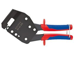 KNIPEX Szczypce do montażu konstrukcji z płyt gips-karton, dwukomponentowe (90 42 250) - zdjęcie