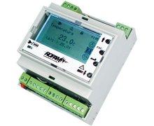 LCD-HMI-D4M Panel LCD-HMI w obudowie na szynę DIN - zdjęcie