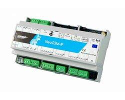 NeoGSM-IP-D9M Centrala alarmowa z komunikacją GSM i funkcjami automatyki budynkowej - zdjęcie
