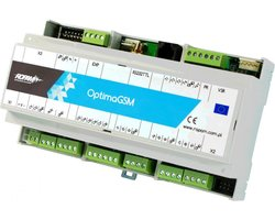 OptimaGSM-D9M Centrala alarmowa z komunikacją GSM i funkcjami automatyki budynkowej - zdjęcie