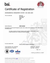 Certyfikat EMS 518430 - zdjęcie