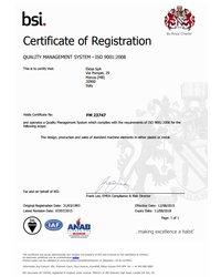 Certyfikat FM 23747 - zdjęcie