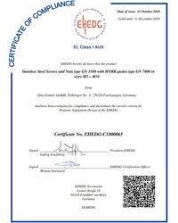 EHEDG-Certyfikat GN 1580 - zdjęcie