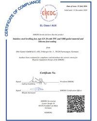 EHEDG-Certyfikat GN 20 - zdjęcie