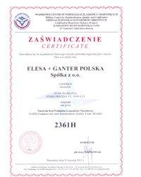 Natowski Kod Podmiotu Gospodarki Narodowej NCAGE – ELESA+GANTER Polska Sp. z o.o. - zdjęcie
