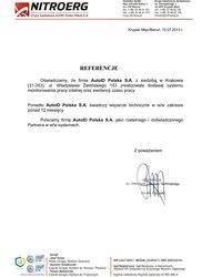 Nitroerg S.A. (grupa KGHM Polska Miedź S.A.) - System Rejestracji Czasu Pracy oraz Kontroli Dostępu w oparciu o technolo - zdjęcie