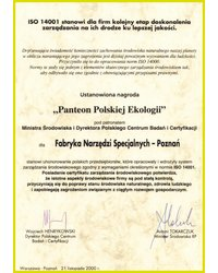 Panteon Polskiej Ekologii - zdjęcie