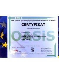 Certyfikat DPK System - zdjęcie