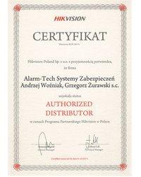 Certyfikat HIKVISION - zdjęcie