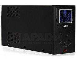 Zasilacz awaryjny UPS AT-UPS650-LCD wolnostojący - zdjęcie