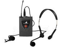 Nadajnik kieszonkowy z dwoma mikrofonami TXA-100HSE - zdjęcie