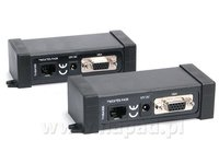 Aktywny nadajnik i odbiornik VGA po skrętce TrVGA300 (4948) - zdjęcie