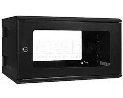 Szafa Rack 19'' 6U 525mm wisząca dwusekcyjna D6506 - zdjęcie
