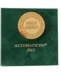 Złoty Medal XVIII Międzynarodowych Targów Automatyki i Pomiarów AUTOMATICON 2012 - zdjęcie