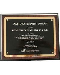 Nagroda Sales Achievement - zdjęcie