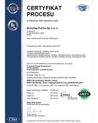 Certyfikat GMP+ - zdjęcie