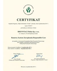 Ramowy System Zarządzania Responsible Care - zdjęcie