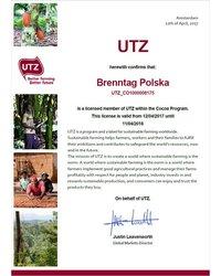 Certyfikat UTZ - zdjęcie
