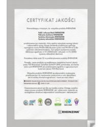 Wymagania QUALITY ZINK i Certyfikat jakości wg LEED, BREEAM, C2C, IGEF - zdjęcie