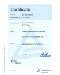 Certyfikaty ISO - zdjęcie