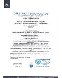Certyfikat Zgodności UE - zdjęcie