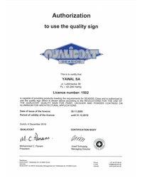 Certyfikat QUALICOAT - zdjęcie