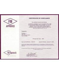 Certyfikat 'FM Approval' - zdjęcie