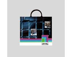 Polietylenowa torba reklamowa z folii LDPE, MDPE z pojedynczym lub podwójnym uchwytem - zdjęcie